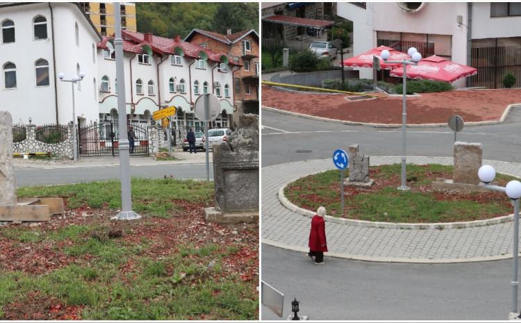 Spomenici na kružnom toku