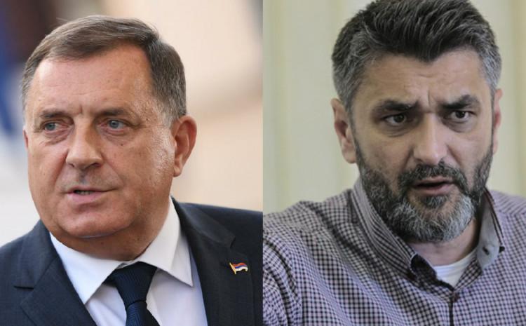 Milorad Dodik i Emir Suljagić