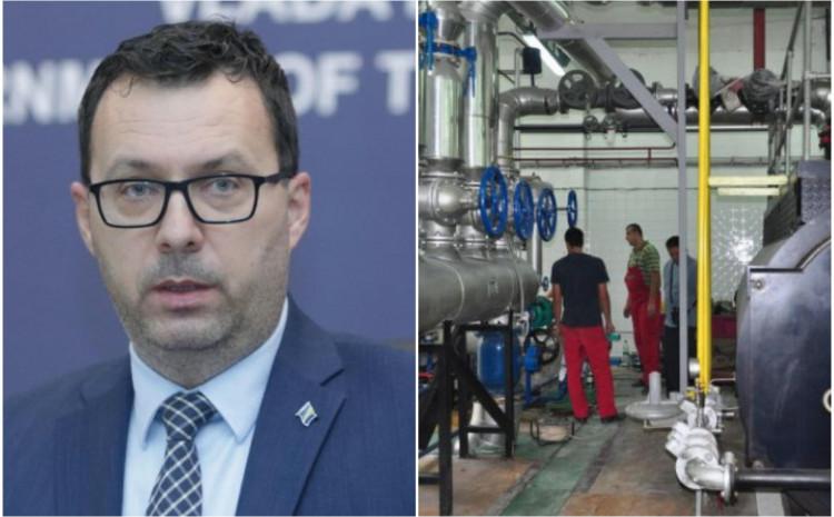 Džindić: Normalizirana isporuka plina