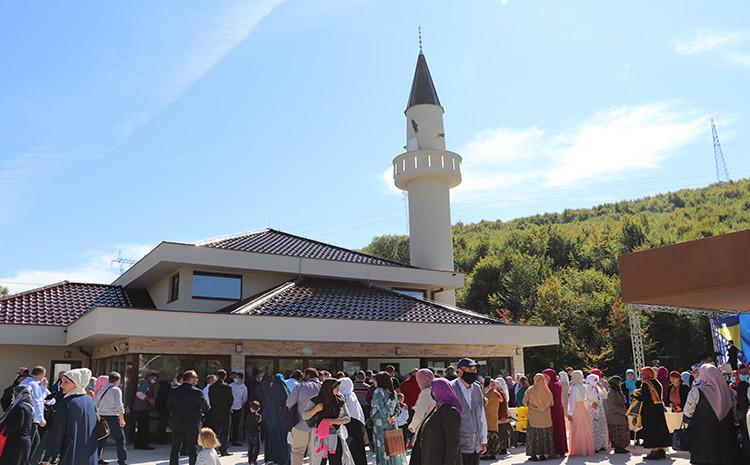 Svečano otvorenje džamije Mesudija u naselju Rječica upriličeno 24.septembra