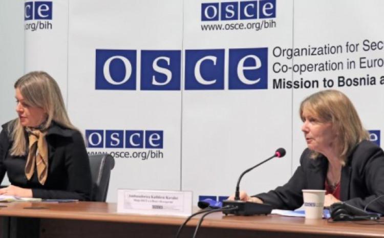 OSCE: Nadležni organi moraju primijeniti sva zakonom dozvoljena sredstva