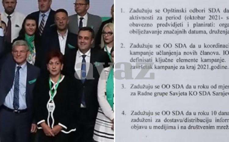 SDA uveliko priprema prljavu kampanju