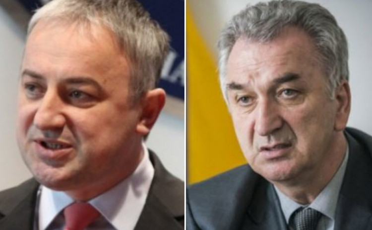 Branislav Borenović i Mirko Šarović