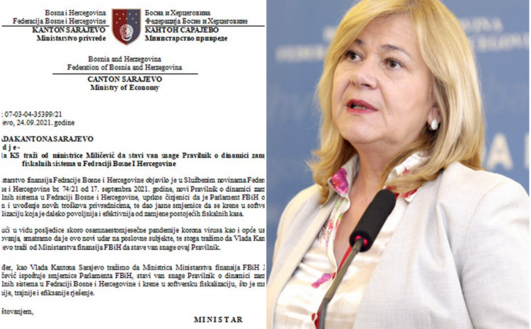 Vlada KS poslala zahtjev ministrici Miličević