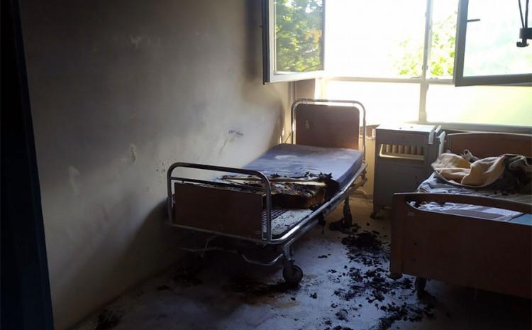 Soba u kojoj je izbio požar