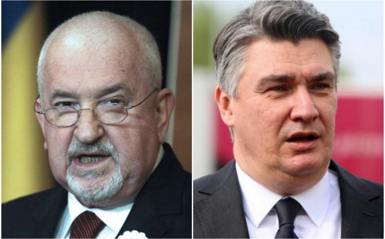 Mustafa Cerić i Zoran Milanović