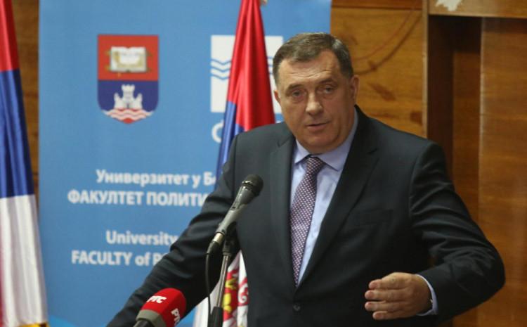Dodik: RS treba da odbaci sve što je nametnuto od visokog predstavnika i Ustavnog suda BiH