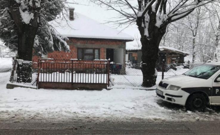 Kuća u Bihaću u kojoj je stravičan zločin počinio Admir Sović