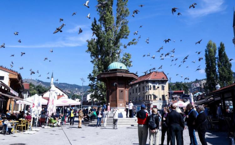 U Sarajevu jutarnja temperatura oko 12, dnevna oko 28 stepeni