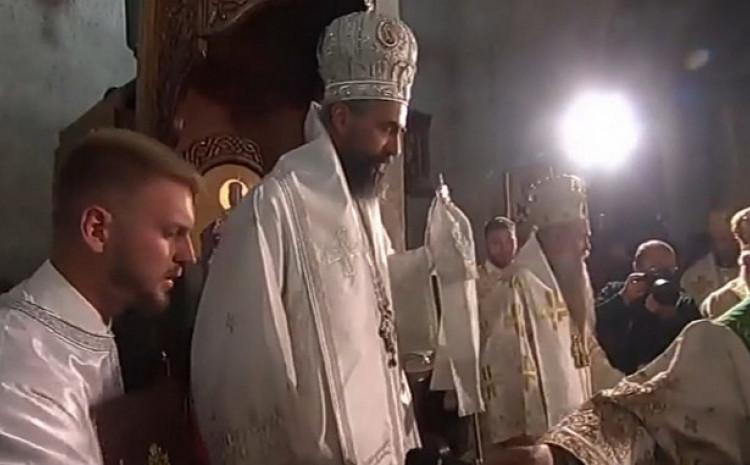 Metosije tokom ceremonije ustoličenja