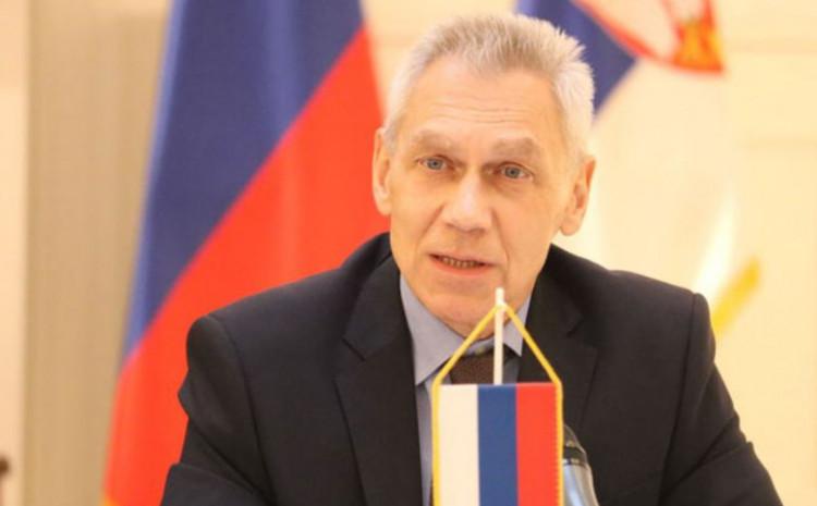 Ruski ambasador u Beogradu Aleksandar Bocan Harčenko