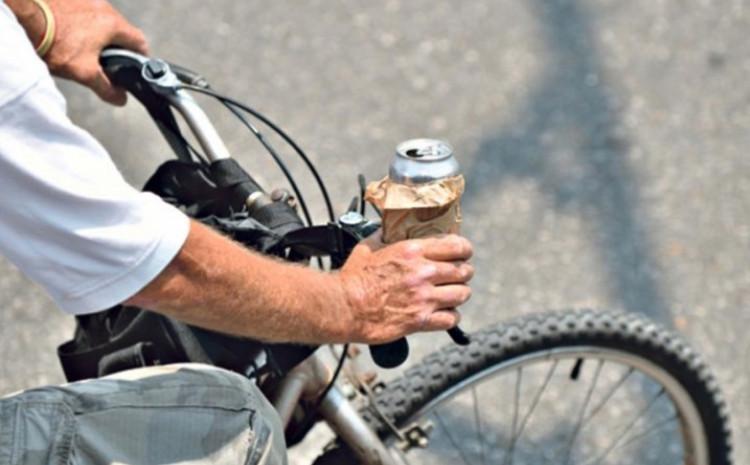 Pijani biciklista