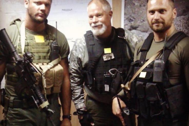 Barčić (lijevo) u Afganistanu