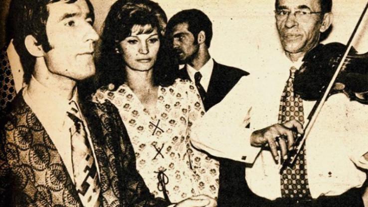 Toma Zdravković i Silvana Armenulić
