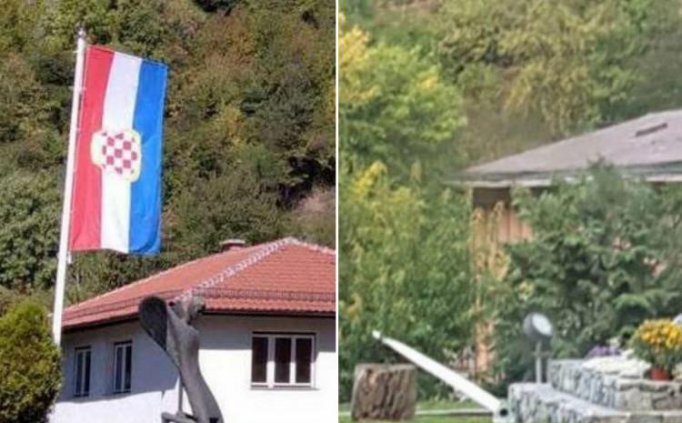 Zastava odnesena