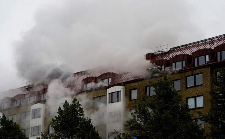 Nakon eksplozije izbio požar