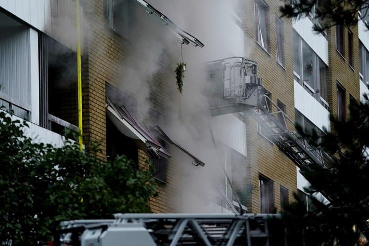 U toku gašenje požara