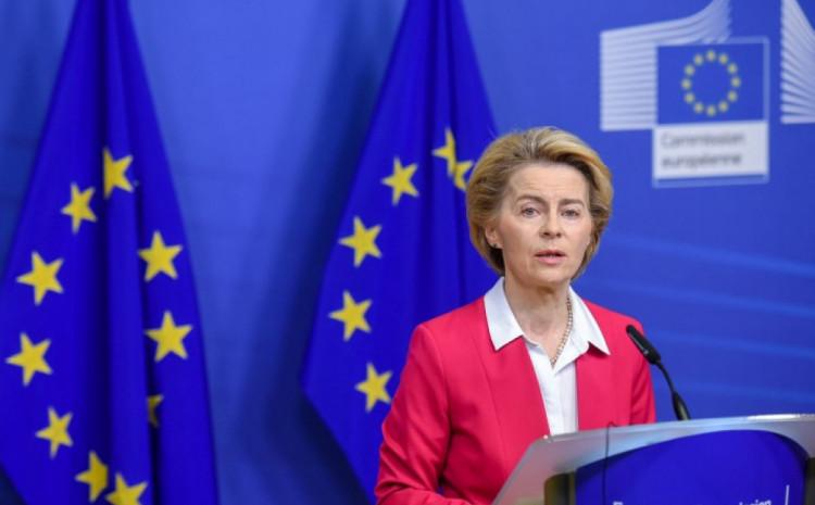 Predsjednica Evropske komisije Ursula von der Lejen