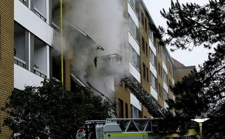 Vatrogasci ugasili požar