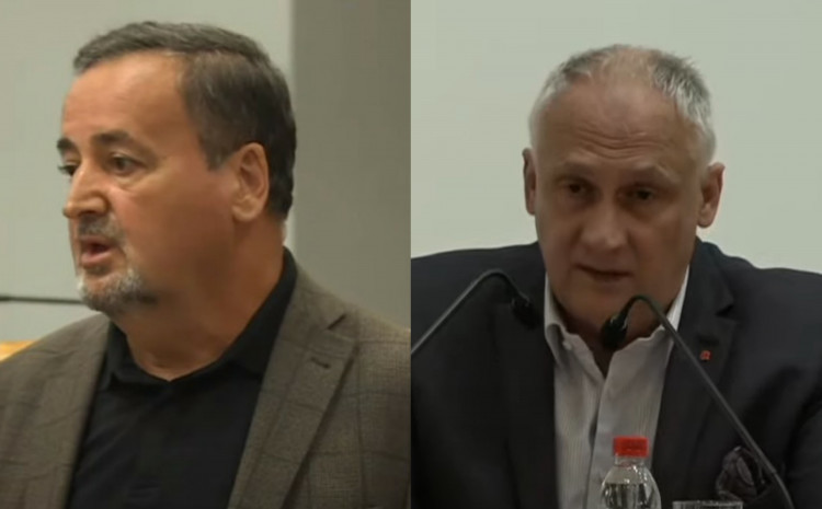 Zvonko Marić  i Haris Vranić