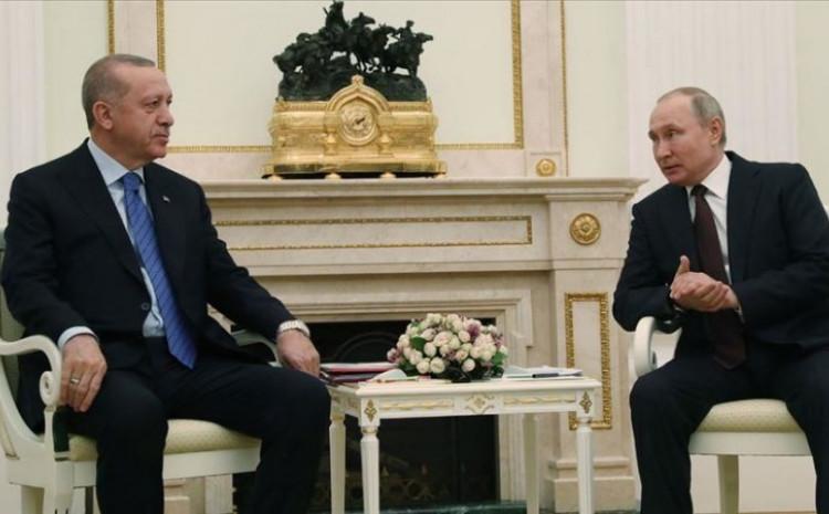 Vladimir Putin i Redžep Tajip Erdoan