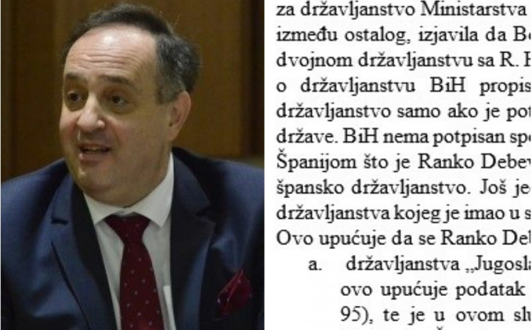Debevec: He hid the property for 14 years