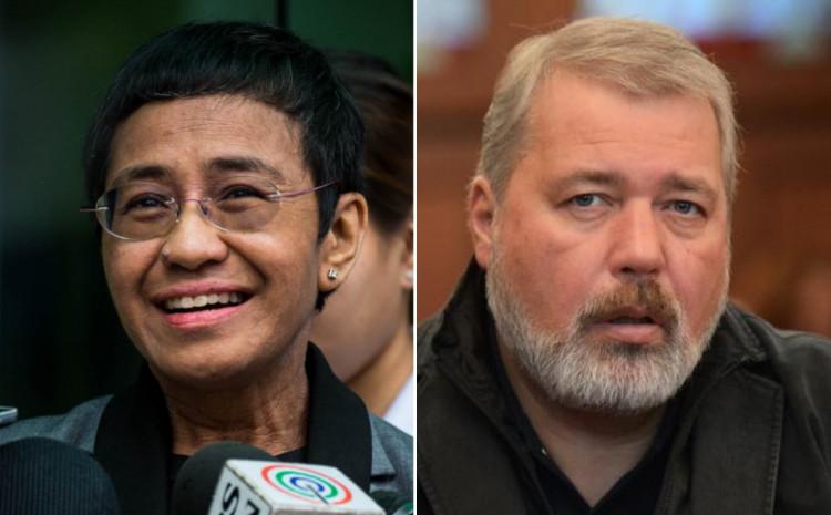 Ruski i Filipinski oporbeni aktivisti dobili Nobela za mir 873x400