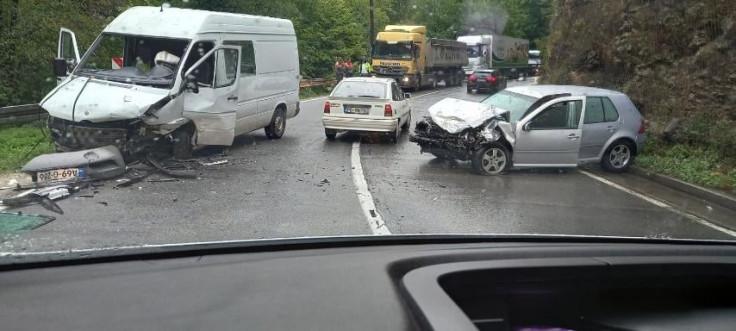 Obustavljen saobraćaj zbog uviđaja