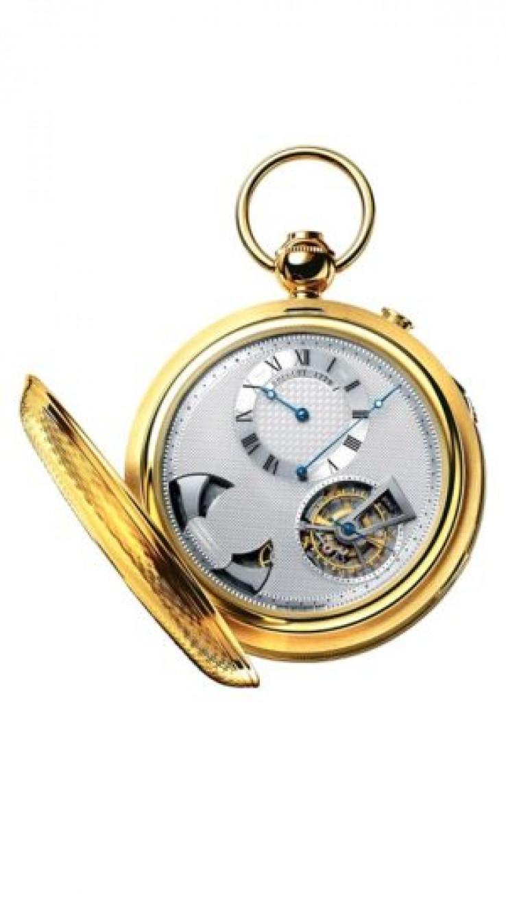Kućište sata izrađeno je od 18-karatnog zlata