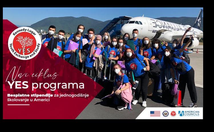 Stipendije za jednogodišnje školovanje za BiH srednjoškolce u Americi