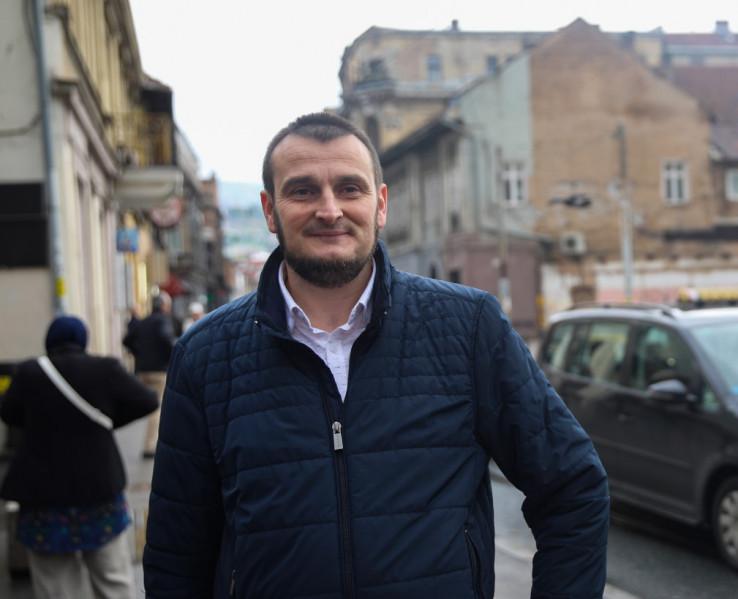 Kemal Kadrić, specijalista urgentne medicine u Zavodu za hitnu medicinsku pomoć Kantona Sarajevo