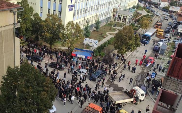 Tokom današnjih protesta