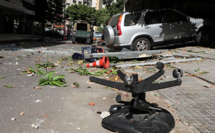 Ulice Bejruta nakon nereda