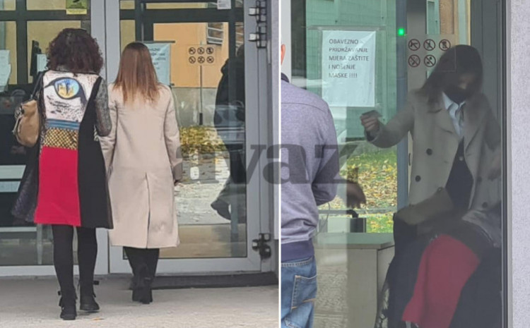 Amina Pekić was questioned by the Prosecutor's Office of B&H
