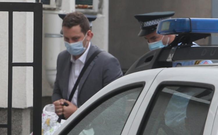 Zeljković prilikom hapšenja