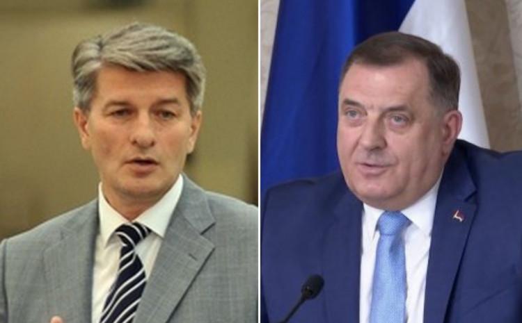 Mehmedović pozvao Dodika