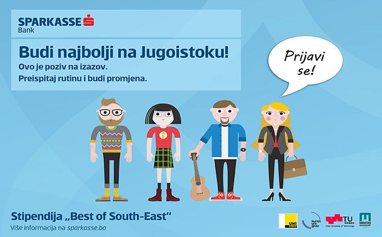 Sparkasse banka poziva studente i diplomante na plaćeni studij i praksu u Austriji u okviru programa Best of South East