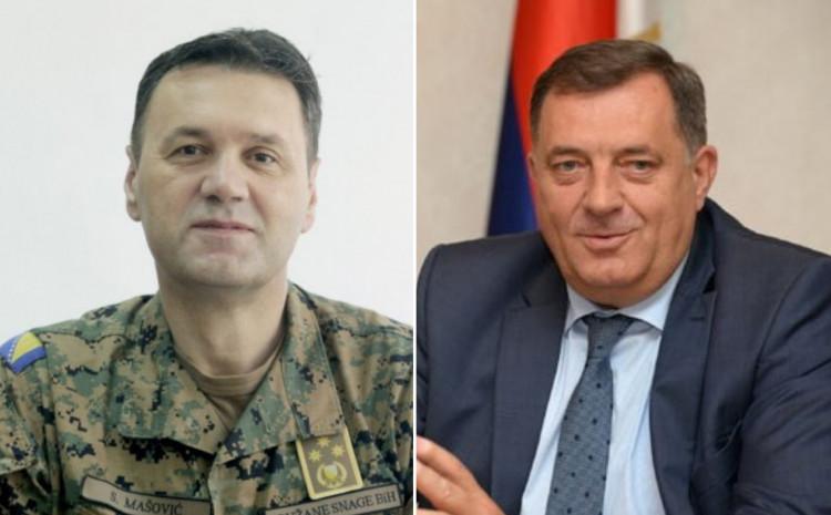 Senad Mašović i Milorad Dodik