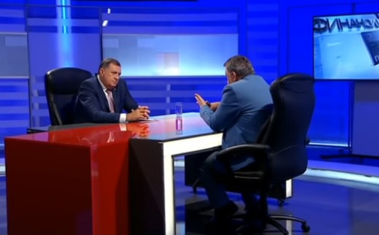 Dodik gostovao kod Đakovića